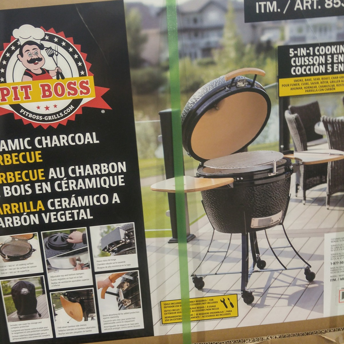 lovely Costco Kamado Grill Part - 11: Hereu0027s the pics from Costco yesterday-